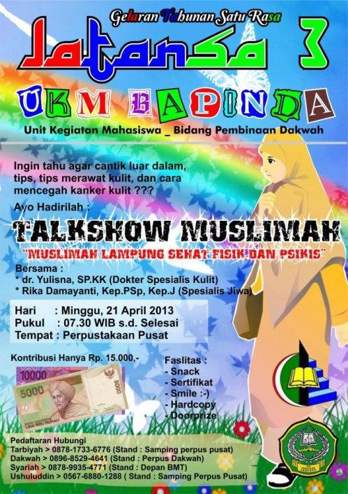 Talkshow Muslimah